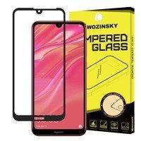 Wozinsky super wytrzymałe szkło hartowane Full Glue na cały ekran z ramką Case Friendly Huawei Y6 2019 / Huawei Y6s 2019 / Y6 Pro 2019 czarny