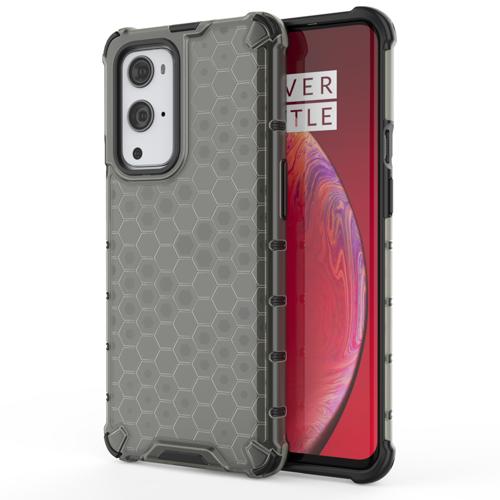Honeycomb etui pancerny pokrowiec z żelową ramką OnePlus 9 Pro czarny