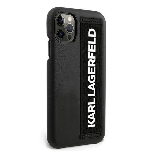 "Karl Lagerfeld KLHCP12MSTKLBK iPhone 12 /12 Pro 6,1"" czarny/black hardcase"