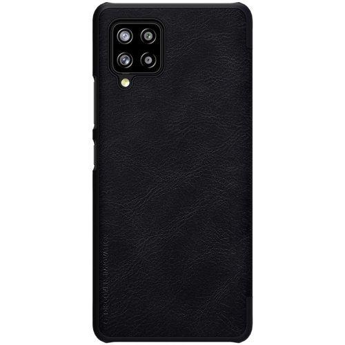 Nillkin Qin skórzana kabura etui Samsung Galaxy A42 5G czarny