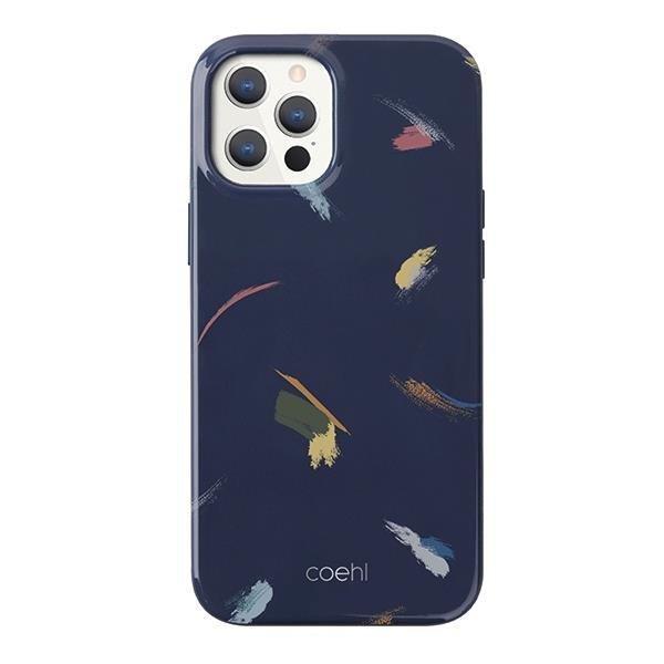 UNIQ Coehl Reverie etui na iPhone 12 Pro / iPhone 12 niebieski