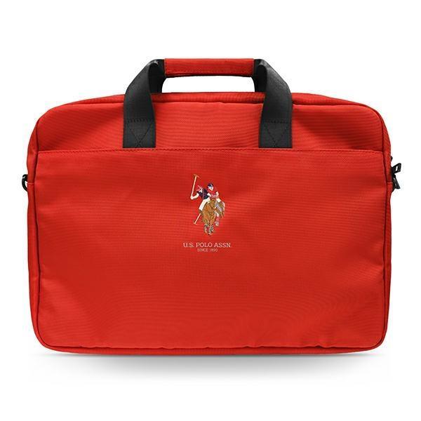 """US Polo Torba USCB15PUGFLRE 15"""" czerwona /red"""